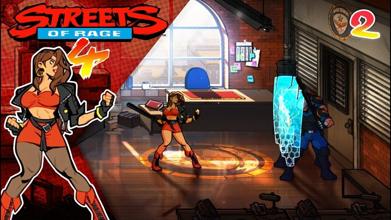 Полицейский участок | Streets of Rage 4 - 2