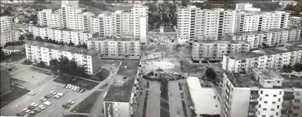Релокация пятиэтажного жилого дома, АлбаЮлия, 1987 год.