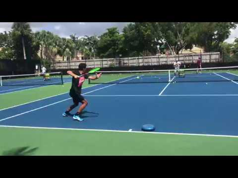 Train as a professional tennis player with Coach Dabul former world 1 juniors and 80 ATP