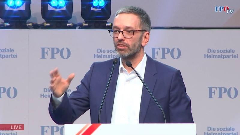 Herbert Kickl am FPÖ Neujahrstreffen Wir lassen uns nicht den Mund verbieten