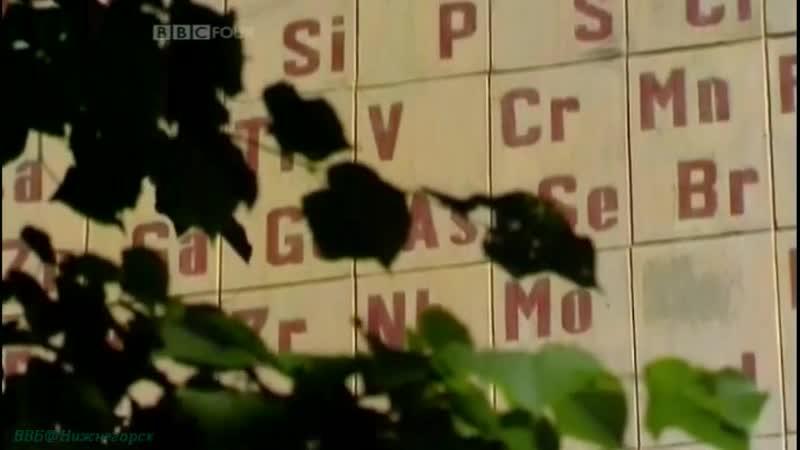 Документальный сериал BBC Химия Изменчивая история II Скрытый порядок