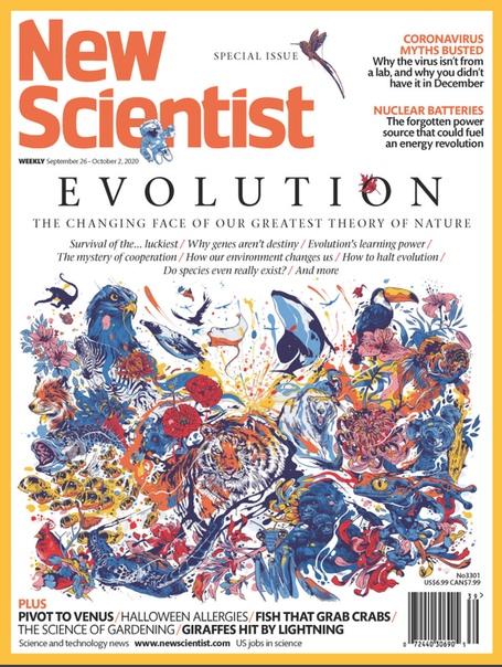 New Scientist. September 26, 2020