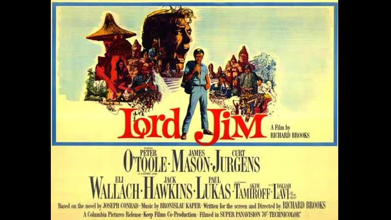 Lord Jim 1965 Peter O'Toole James Mason Curd Jürgens