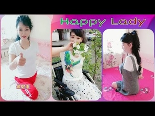 Beautiful triple amputee lady : Episode #3 | Happy lady | Lovely smile |