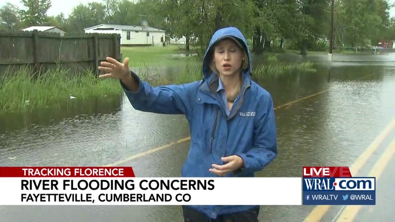 Fayetteville Neighborhoods Begins to Flood