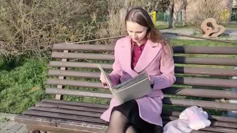 Анна Мельниченко и Георгий Саакян В рамках проекта Мы о войне стихами говорим