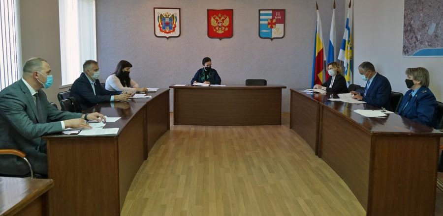 В Таганроге проходят заседания постоянных комиссий Городской Думы