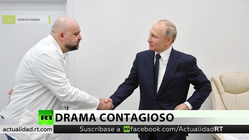 El jefe del hospital con pacientes de covid 19 que visitó Putin tiene el coronavirus