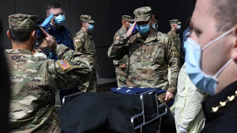 50 тысяч смертей новый рубеж пандемии в США АМЕРИКА 24 04 20