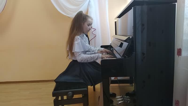 Фортепианный дуэт «Росинки» - «Мае вочы чорныя» и «Две джазовые пьесы»