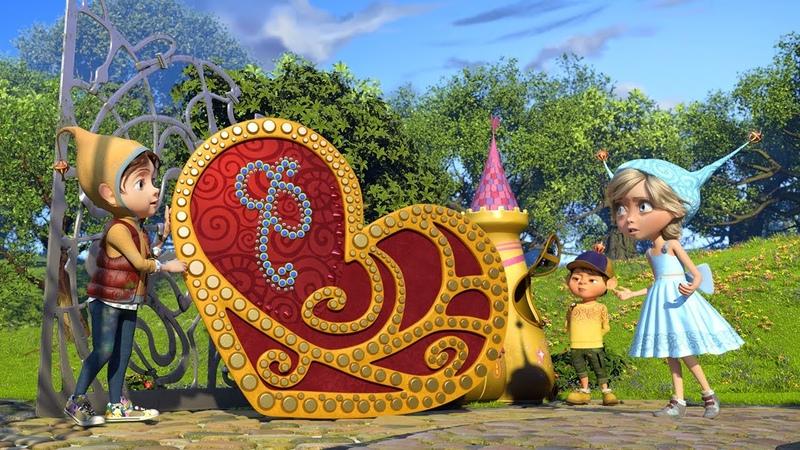 ДЖИНГЛИКИ День Святого Джинглитина 15 серия Добрые мультики для детей 2020