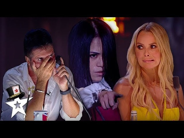 TERRIFYING AUDITION The Scared Riana Contacts The DEAD BGT Champions 2019