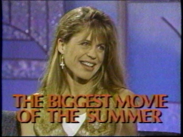 Linda Hamilton on the Arsenio Hall Show 1992 Terminator 2