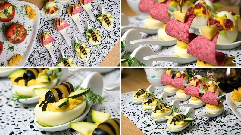 Żaglówki i pszczółki - jajeczne przysmaki