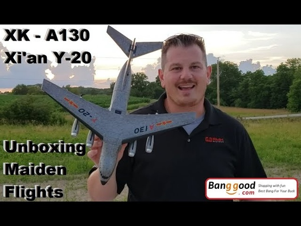 XK A130 Xi'an Y 20 Unbox Maiden Flights Retrieval with Stick of Shame