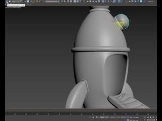 speed-моделинг ракеты