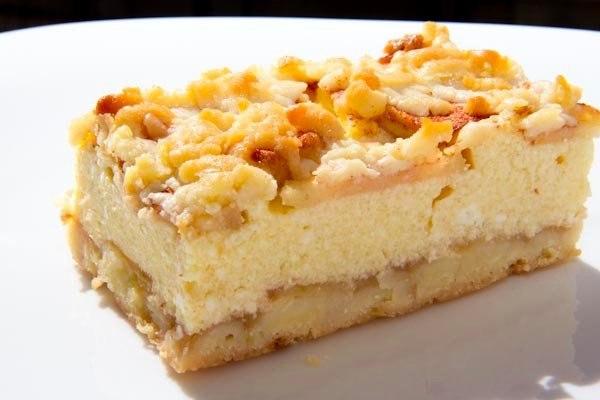 """""""Тертый пирог с творогом и яблоками"""""""