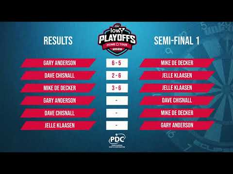 Anderson v Chisnall Low6 Home Tour Play Off Semi Final