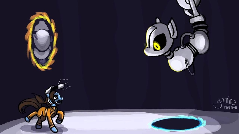My Little Portal GLaDOS theme song MLP Music