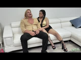 Alona Bloom and Katie Morgan - Charming Niece [All Sex, Hardcore, Blowjob, Incest]