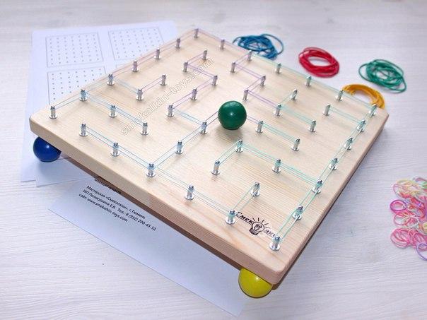 ГЕОМЕТРИК - МАТЕМАТИЧЕСКИЙ ПЛАНШЕТ Отличная развивающая игрушка для детей, которую очень просто сделать самостоятельно!Математический планшет - это необычный способ познакомить любого малыша с