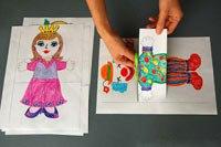 ИГРЫ И ИГРУШКИ СВОИМИ РУКАМИ Воспользуйтесь готовым шаблоном (см. прикрепленный к посту pdf-документ), чтобы сделать забавную книжку-путаницу вместе со своим ребенком. Подробный мастер класс по