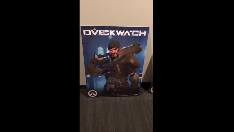 There's some old Overwatch Retribution posters of the Blackwatch team laying around in the hallways at the office. We must be fr