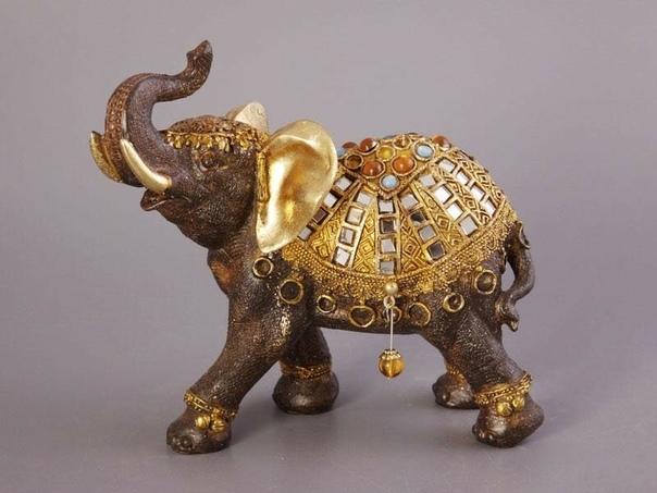 Слон - символ достаткa в доме. Пусть вас будет ждать неожиданная прибыль!