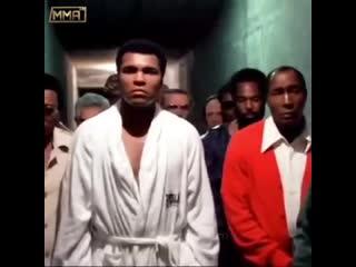 Мухаммед Али перед боем с Форманом