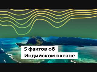 5 фактов об Индийском океане