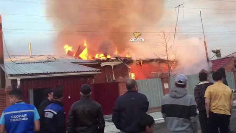 Пожар в Дзержинском районе