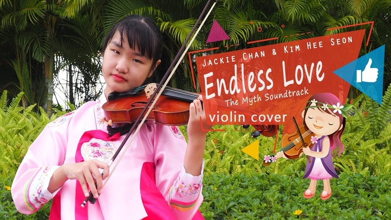 Jackie Chan Kim Hee Seon Endless Love 美麗的神話 The Myth Soundtrack Violin Cover by Evelyn Halim