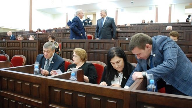 В проекте повестки дня 50-ой сессии Госсобрания – 20 вопросов