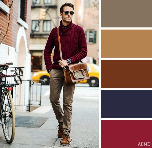10 идеальных цветовых сочетаний в одежде для мужчин