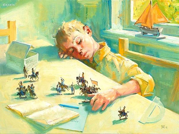 СЫН Пока ребёнок маленький, мечтаешь о том, чтобы он скорее вырос. Дурак потому что. Не догадываешься, что по сравнению со взрослыми проблемами детские это так, ерунда. Плохо спал первые четыре