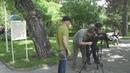 В Кисловодске снимают документальное кино.