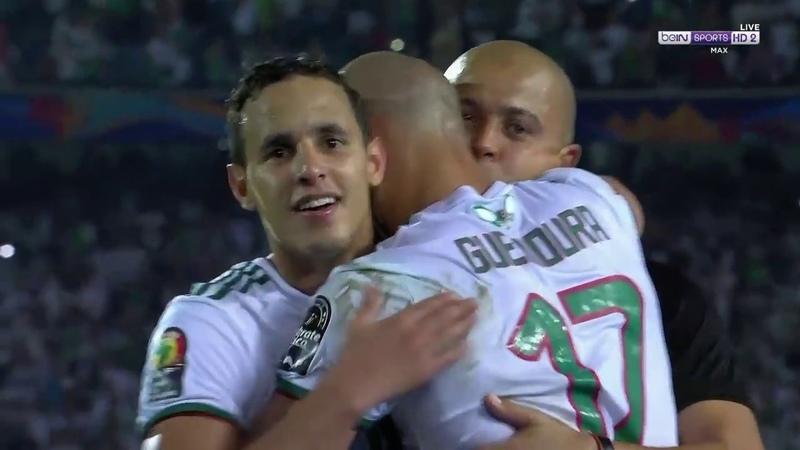 عاجل شاهد لحظة فوز المنتخب الجزائري بلقب 160