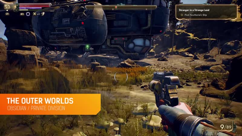 The Outer Worlds 40 minutes of PS4 gameplay
