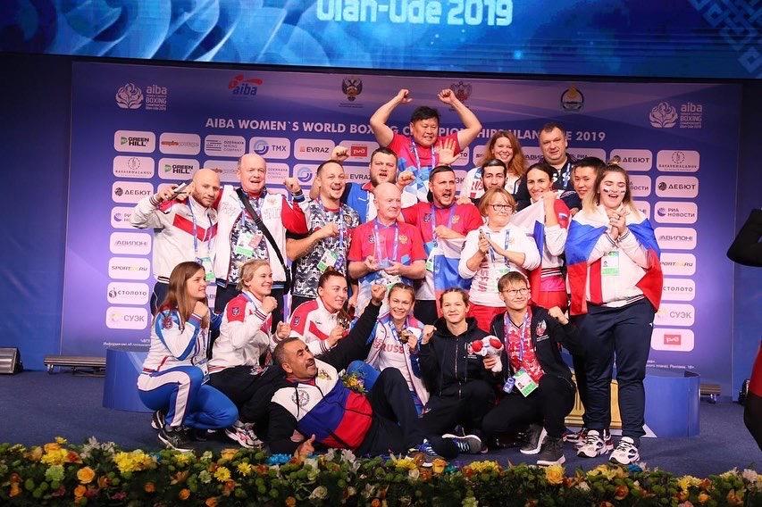 Женская сборная России выиграла в медальном зачёте чемпионата мира по боксу