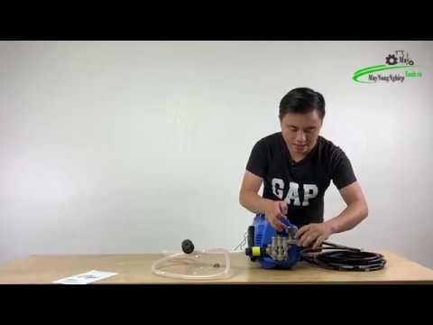 Bán máy xịt rửa xe mini gia đình Panka RC 1900W 100 Dây Đồng