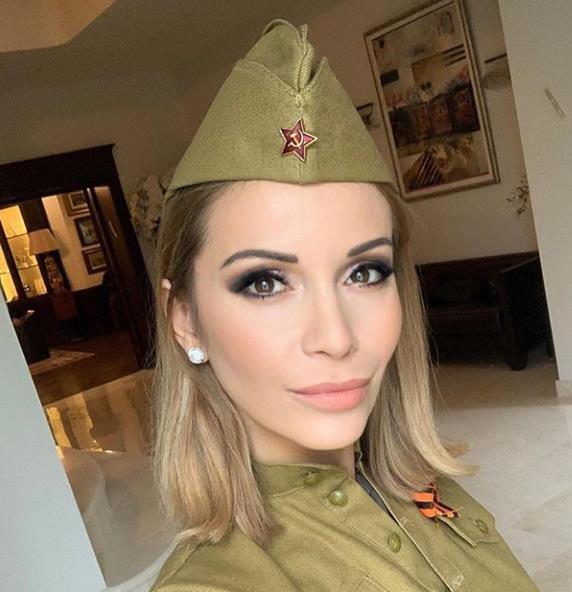 Ольга Орлова поделилась снимком в форме!