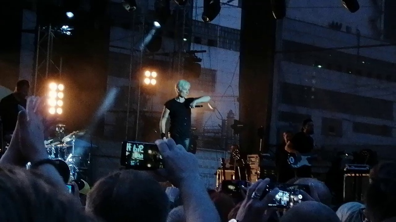 Диана Арбенина и Ночные снайперы Разбуди меня Новосибирск 15 06 2019