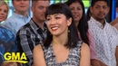 Constance Wu dishes on playing a stripper in 'Hustlers' l GMA
