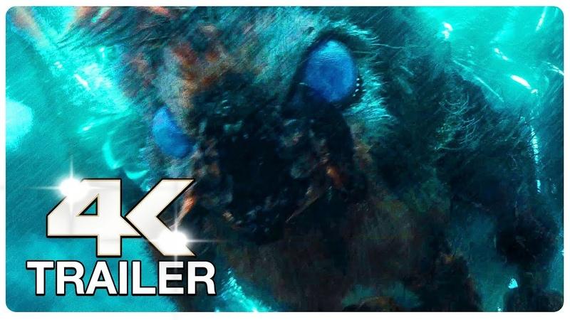 GODZILLA KING OF THE MONSTERS 5 Minute Extended Trailer 4K ULTRA HD NEW 2019 Godzilla 2