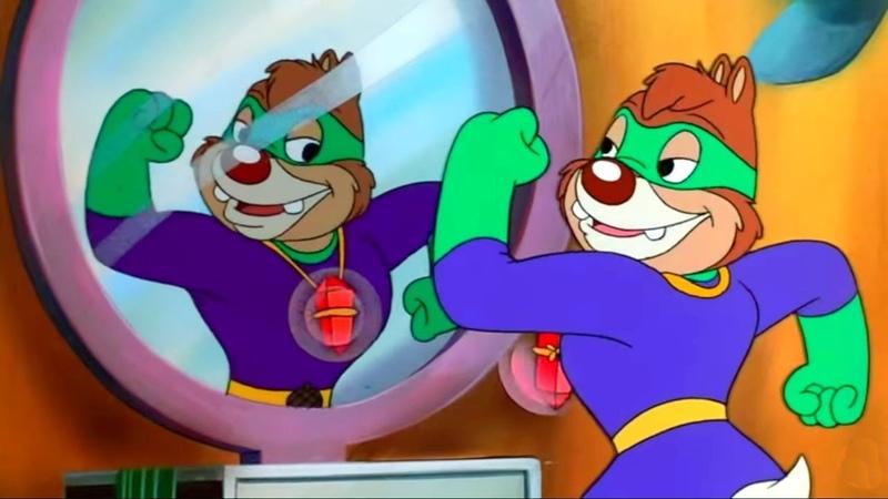 Чип и Дейл спешат на помощь - Серия 49, Безумный Дейл | Мультфильм Disney