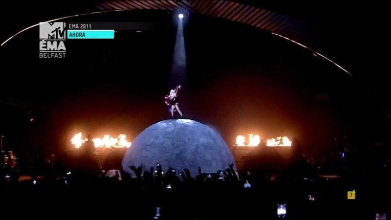 Lady Gaga - Marry The Night - Premios EMA MTV 2011 Belfast