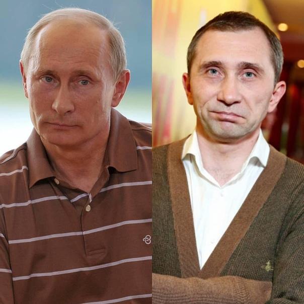 Дмитрий Грачёв и Владимир Путин.