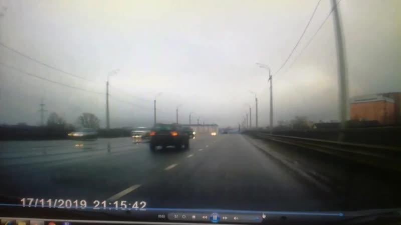 ДТП на Восточном мосту в Твери 18-11-19