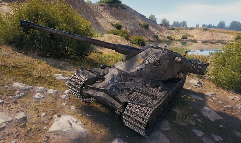 2D-стиль «Тёмный рыцарь», который можно использовать на любом танке