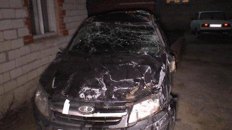 Появилось фото авто, в котором разбилась семья в Неверкинском районе